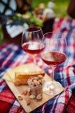Κόκκινο κρασί και καρύδια φυστικιών Στοκ εικόνες με δικαίωμα ελεύθερης χρήσης