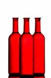 κόκκινο κρασί μπουκαλιών στοκ φωτογραφία με δικαίωμα ελεύθερης χρήσης