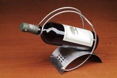 κόκκινο κρασί μπουκαλιών στοκ εικόνες