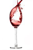 κόκκινο κρασί παφλασμών στοκ φωτογραφίες