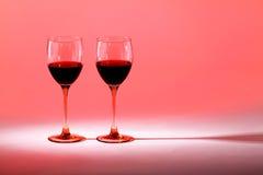 Κόκκινο κρασί ποτών στοκ εικόνα