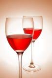 κόκκινο κρασί Στοκ Φωτογραφία