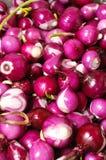 κόκκινο κρεμμυδιών ανασκόπησης στοκ φωτογραφία με δικαίωμα ελεύθερης χρήσης