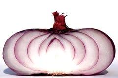 κόκκινο κρεμμυδιών Στοκ εικόνα με δικαίωμα ελεύθερης χρήσης
