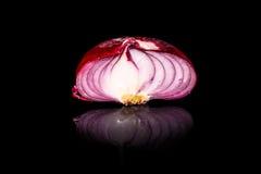 Κόκκινο κρεμμύδι από Yalta (Κριμαία), Στοκ εικόνα με δικαίωμα ελεύθερης χρήσης