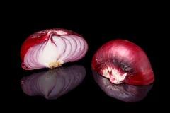 Κόκκινο κρεμμύδι από Yalta (Κριμαία), Στοκ Φωτογραφίες