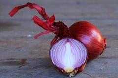 Κόκκινο κρεμμύδι στοκ εικόνες με δικαίωμα ελεύθερης χρήσης