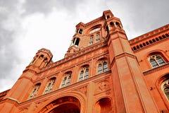 Κόκκινο κτήριο Στοκ Φωτογραφίες