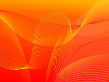 κόκκινο κύμα ανασκόπησης Στοκ φωτογραφία με δικαίωμα ελεύθερης χρήσης