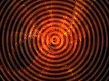 κόκκινο κύμα Στοκ εικόνα με δικαίωμα ελεύθερης χρήσης