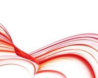 κόκκινο κύμα Στοκ εικόνες με δικαίωμα ελεύθερης χρήσης