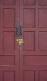 κόκκινο κλειδωμάτων πορ&tau Στοκ Εικόνες
