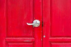 κόκκινο κλειδωμάτων πορ&tau Στοκ φωτογραφίες με δικαίωμα ελεύθερης χρήσης