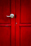 κόκκινο κλειδωμάτων πορ&tau Στοκ φωτογραφία με δικαίωμα ελεύθερης χρήσης