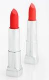 κόκκινο λευκό δύο κραγιό&n Στοκ εικόνα με δικαίωμα ελεύθερης χρήσης