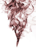κόκκινο λευκό καπνού χρώμ&alph Στοκ Εικόνες