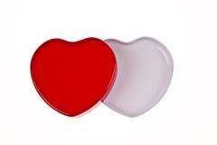 κόκκινο λευκό καρδιών Στοκ φωτογραφία με δικαίωμα ελεύθερης χρήσης