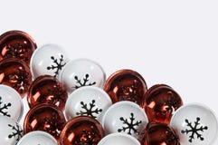 κόκκινο λευκό κουδου&nu Στοκ Εικόνα
