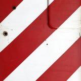 κόκκινο λευκό λωρίδων Στοκ φωτογραφίες με δικαίωμα ελεύθερης χρήσης