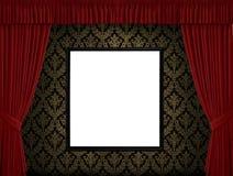 κόκκινο λευκό πλαισίων κ& Στοκ φωτογραφία με δικαίωμα ελεύθερης χρήσης