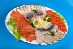κόκκινο λευκό ψαριών Στοκ Εικόνες