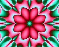 κόκκινο λουλουδιών ελεύθερη απεικόνιση δικαιώματος