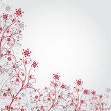 Κόκκινο λουλούδι grunge Στοκ φωτογραφίες με δικαίωμα ελεύθερης χρήσης