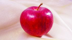 Κόκκινο μήλο Στοκ φωτογραφίες με δικαίωμα ελεύθερης χρήσης