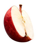Κόκκινο μήλο Στοκ φωτογραφία με δικαίωμα ελεύθερης χρήσης