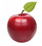 Κόκκινο μήλων που απομονώνεται Στοκ εικόνες με δικαίωμα ελεύθερης χρήσης