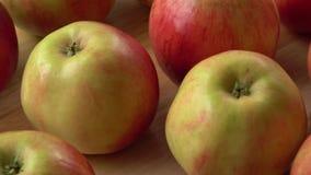 κόκκινο μήλων απόθεμα βίντεο