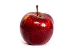 Κόκκινο μήλο που απομονώνεται στο άσπρο υπόβαθρο Στοκ φωτογραφία με δικαίωμα ελεύθερης χρήσης
