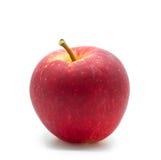 Κόκκινο μήλο στο λευκό Στοκ Φωτογραφία