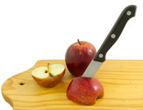 Κόκκινο μήλο Στοκ Εικόνα