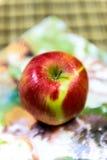 Κόκκινο μήλο mmmm Στοκ φωτογραφίες με δικαίωμα ελεύθερης χρήσης