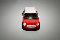 Κόκκινο μίνι αυτοκίνητο παιχνιδιών Στοκ φωτογραφία με δικαίωμα ελεύθερης χρήσης
