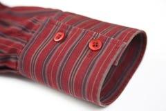 κόκκινο μανσετών Στοκ φωτογραφία με δικαίωμα ελεύθερης χρήσης