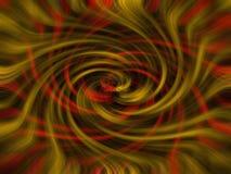 Κόκκινο μαύρο και χρυσό twirl υπόβαθρο Στοκ φωτογραφία με δικαίωμα ελεύθερης χρήσης