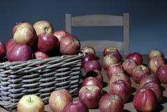 κόκκινο μερών μήλων Στοκ Εικόνες