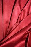 κόκκινο μετάξι υφάσματος Στοκ Φωτογραφίες