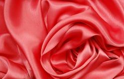 κόκκινο μετάξι Στοκ εικόνες με δικαίωμα ελεύθερης χρήσης
