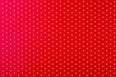 Κόκκινο με τα άσπρα σημεία Στοκ Εικόνα