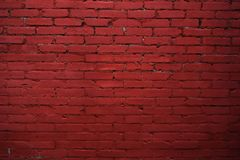 κόκκινο με την άσπρη ένωση Ο τοίχος του κτηρίου σύσταση Στοκ φωτογραφία με δικαίωμα ελεύθερης χρήσης