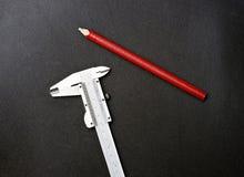 κόκκινο μολυβιών παχυμε&t Στοκ Φωτογραφία