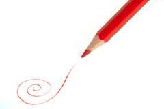 κόκκινο μολυβιών Στοκ Φωτογραφίες