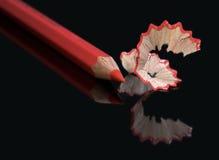 κόκκινο μολυβιών Στοκ Εικόνα