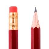 κόκκινο μολυβιών Στοκ φωτογραφία με δικαίωμα ελεύθερης χρήσης