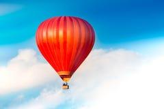 Κόκκινο μπαλόνι αέρα Στοκ φωτογραφία με δικαίωμα ελεύθερης χρήσης