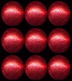 κόκκινο μπιχλιμπιδιών Στοκ Εικόνες