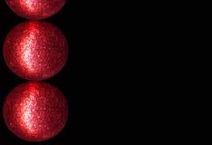 κόκκινο μπιχλιμπιδιών Στοκ Φωτογραφία